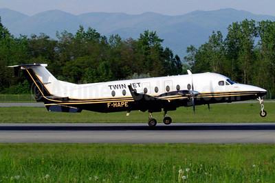 Twin Jet Beech (Raytheon) 1900D F-HAPE (msn UE-367) BSL (Paul Bannwarth). Image: 911772.