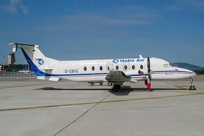 Hahn Air Beech 1900D D-CBIG (msn UE-288) ZRH (Wingnut). Image: 943958.