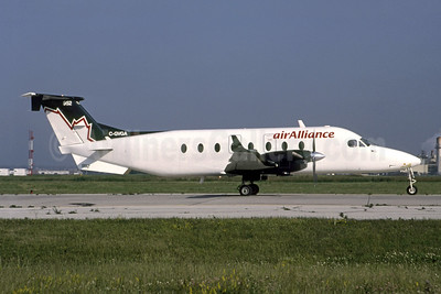 air Alliance Beech 1900D C-GVGA (msn UE-292) YYZ (TMK Photography). Image: 951482.