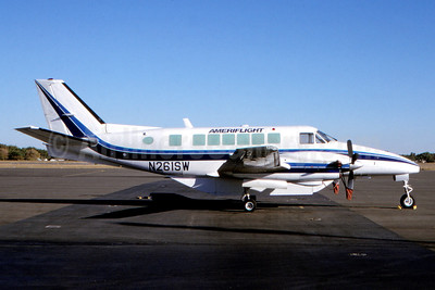 Ameriflight Beech C99 N261SW (msn U-202) (Tim Williams - Fernandez Imaging Collection). Image: 937100.