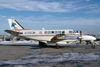 Altair Airlines Beechcraft 99A Airliner N788C (msn U-124) PHL (Bruce Drum). Image: 103327.