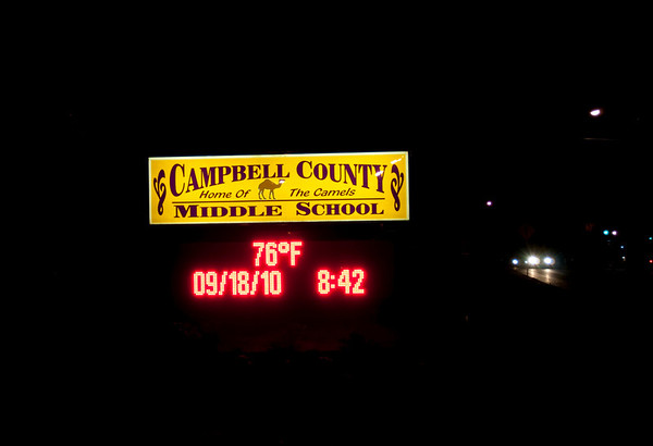 Sept. 18 - Campbell County - Finals