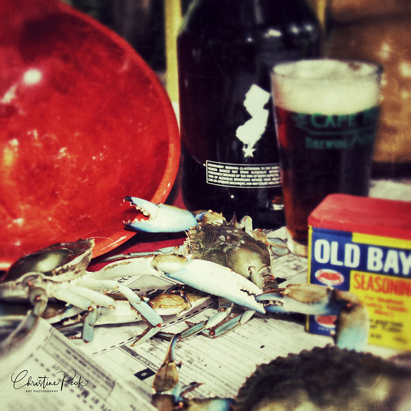 Beer, Crabs and Old Bay