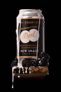 New Image Brewing Company: Dyad - Blackberries & Cream
