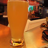 in this beer hall looking spot there were some interesting finds. This nice refreshing saison was perfect in the heat, unusual in only being 3.5 percent, but you could spend the day with them.