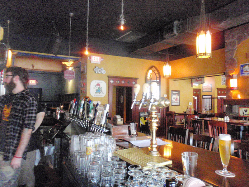 "Publick House, the other side of the bar is called ""The Monks Cell"" Nice place to hang out"