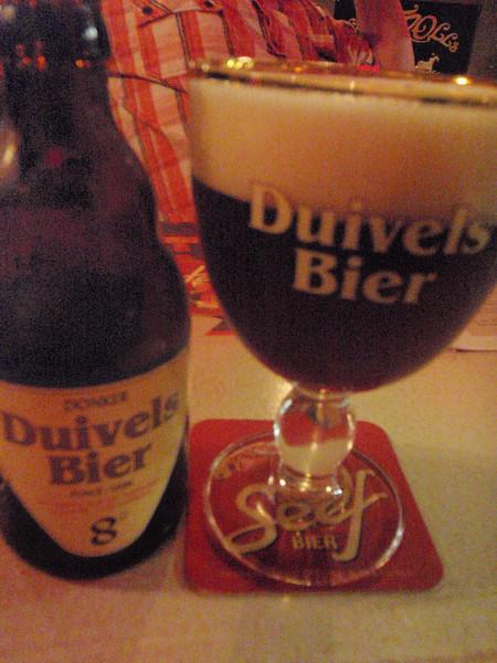 yup, more dark beer