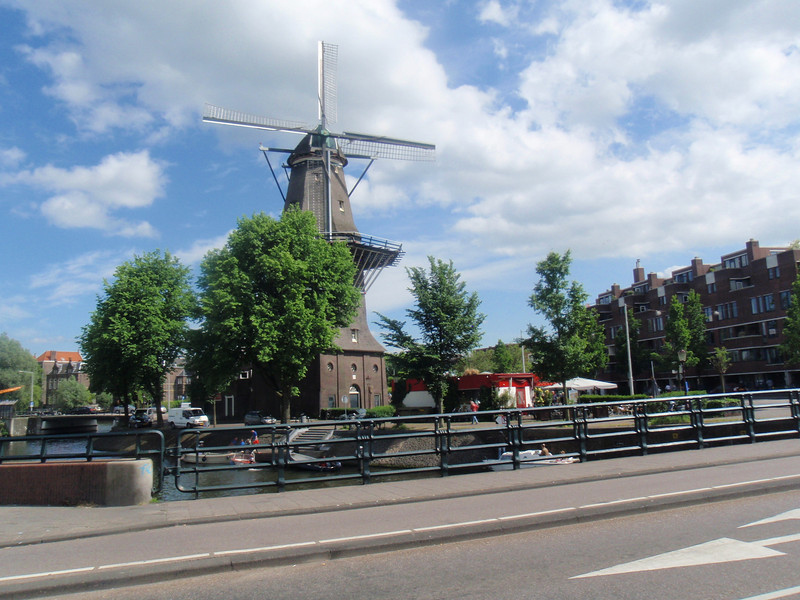 pretty windmill, one of only 6 left in the city