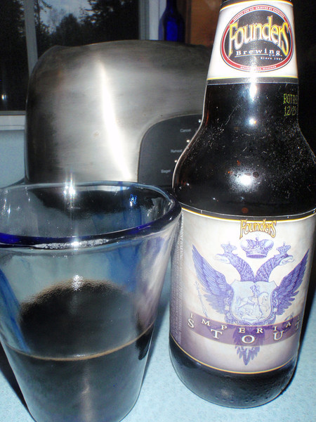 I had a Long Trail Whitetail golden ale before jumping into this Imperial stout. Do you know what squid ink smells like? I'm not sure either but I'm sure I smelled it here.