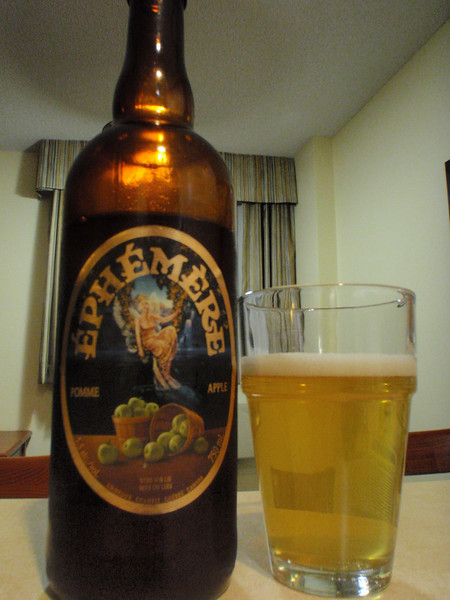 June 25: Montreal, Candlewood Suites. Here for a week just reminding myself of one of the local beers. Looking forward to trying some of the excellent micros I haven't had an opportunity to try yet