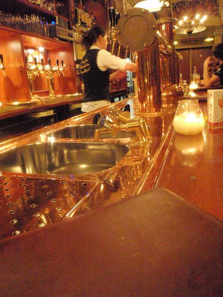 beautiful copper bar