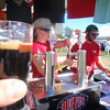 woo hoo, Great Canadian beer festival in Victoria. Don't ask me what these all are as I have no idea from not taking a single note during the event 08/09/12