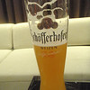 a local weizen at the hotel