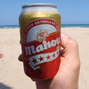 Corteo Valencia June 2011, we had to but this beer to go to the beach