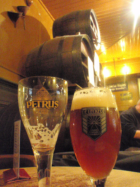 so was the oak aged Petrus Pale Ale I had before it