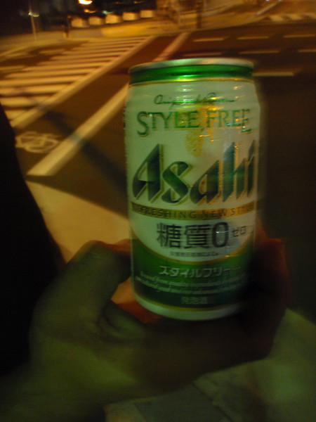 I started taking photos of random stuff including beer and related things on my first trip to Japan. Working for Cique du Soleil as a fly-in rigger on Corteo in Osaka September 2009. <br /> <br /> And so we begin, I don't know what it is and it doesn't have any alcohol in it either