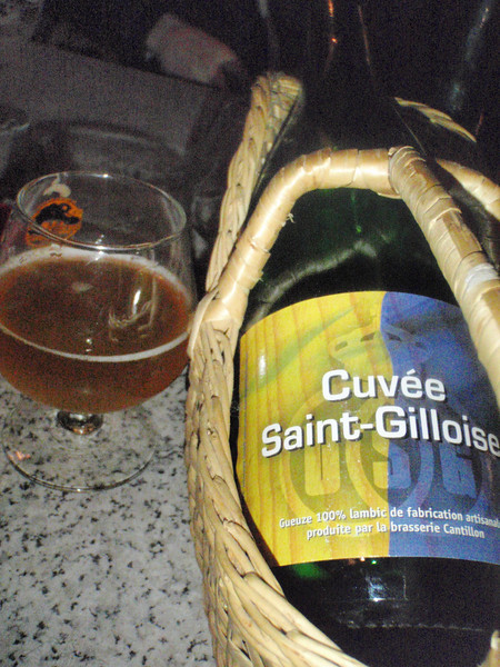 Remember the Cuvée du Champions I had at the Blind Tiger? This is the same stuff from the bar owner's cellar.