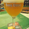 Avec les Bons Voeux, Brasserie Dupont. Seasonal and delicious fresh on tap