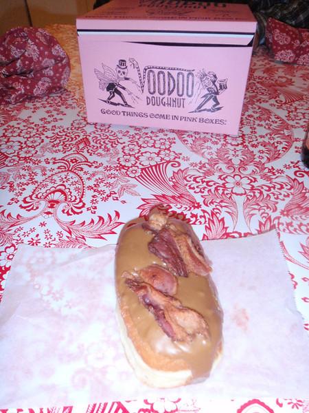 yummy Bacon Maple Bar