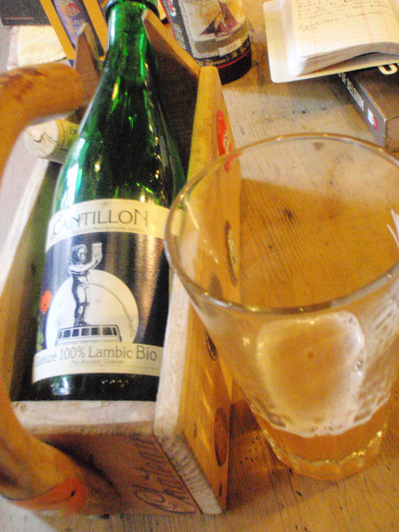 I love the gueze and Cantillon is one of the best