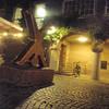 fn sculptures around town