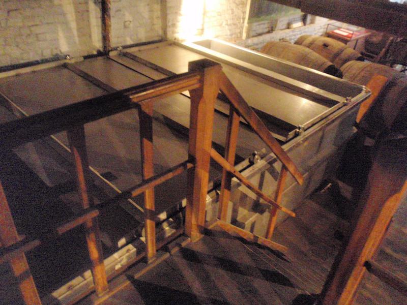 the fermenter
