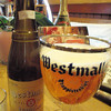 a little vintage Westmalle  just for fun, followed by a new one back at the hotel. gotta love tripels