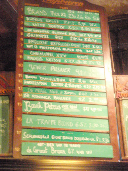 plenty to choose from on tap