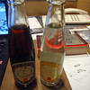 Tokyo, the one on the left I think is sake and cola, not very tasty
