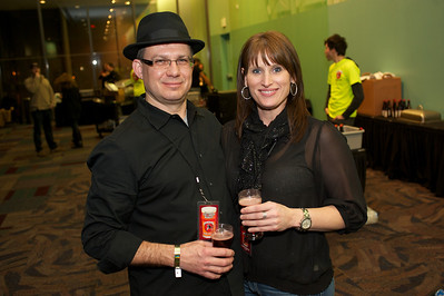 Richard Bohme from Dayton and Bobbi Vaughn of Walton, KY at the 2012 CincyBeerfest