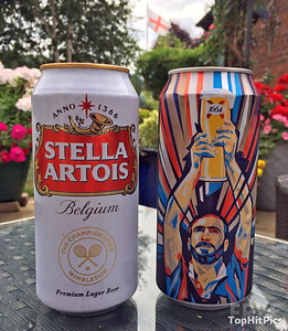 Belgium Vs France Beer During the 2018 Russian World Cup