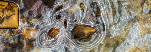 ROCK WATER ICE DEER CREEK