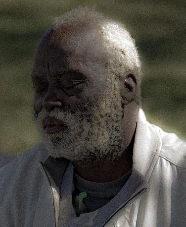 Blind Black Man