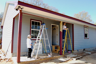 After: This is Minnie Hawkins' new home built by The Fuller Center in Minden, La.