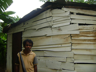 Before: Sri Lankan home.