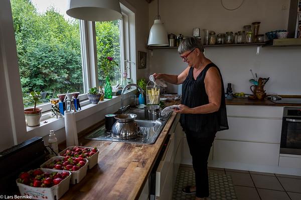 2018 Frokost hos Vibeke