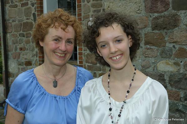 Annettes konfirmation 8. maj 2009