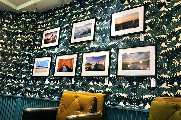 Photographs by Aaron Northcott Hanging in Harris and Hoole Colchester