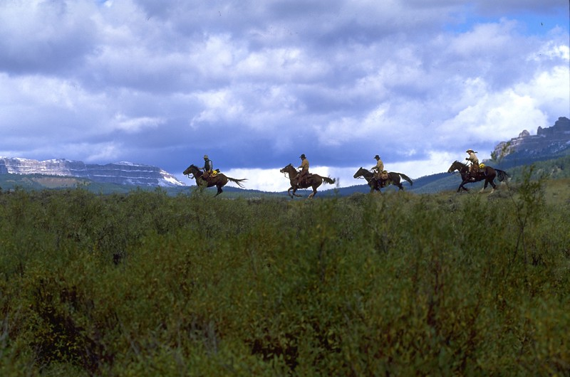 The Four Horsemen from Wyoming