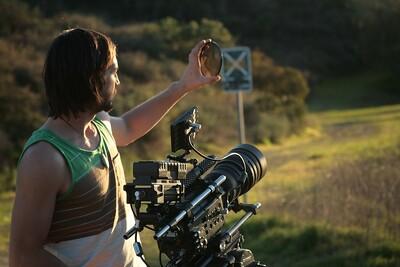 "Shooting on RED - D.P. Tristan Bayer capturing images for ""Acid Test""."