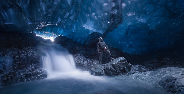 My favorite ice cave in Iceland