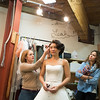 The Oregon Shakespeare Festival. 2015. Much Ado about Nothing wig fitting. Photo: Jenny Graham..
