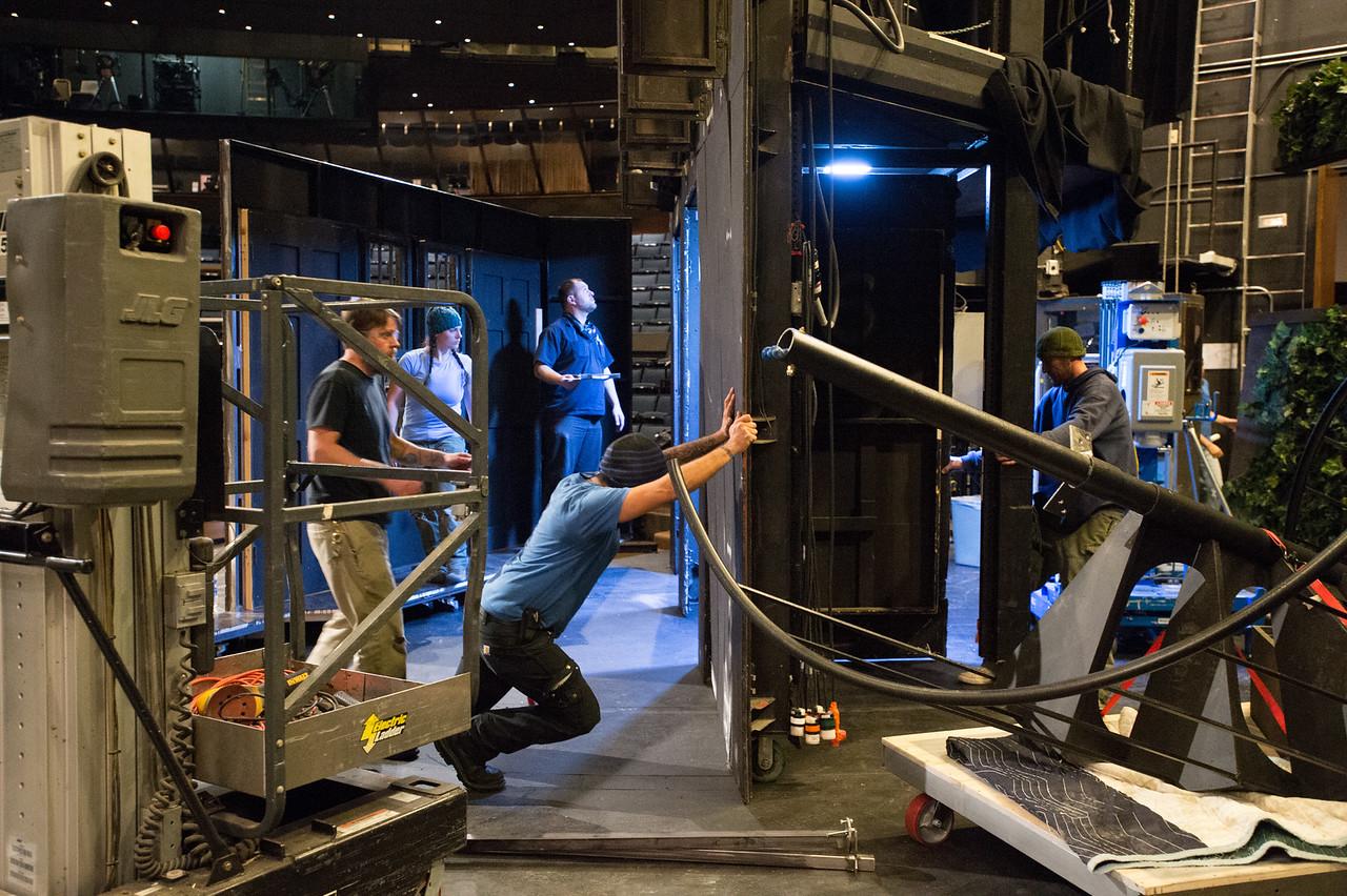 The Oregon Shakespeare Festival. 2015. Fingersmith Load in. Photo: Jenny Graham..