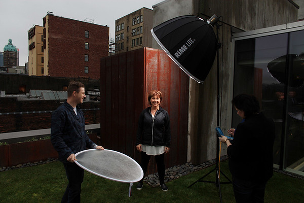 Former BC Premier Christy Clark during a photo shoot in Vancouver.