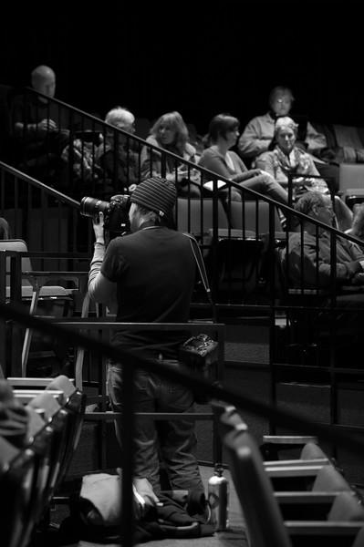 The Oregon Shakespeare Festival. 2011. Language Preshow. Photo: David Cooper.