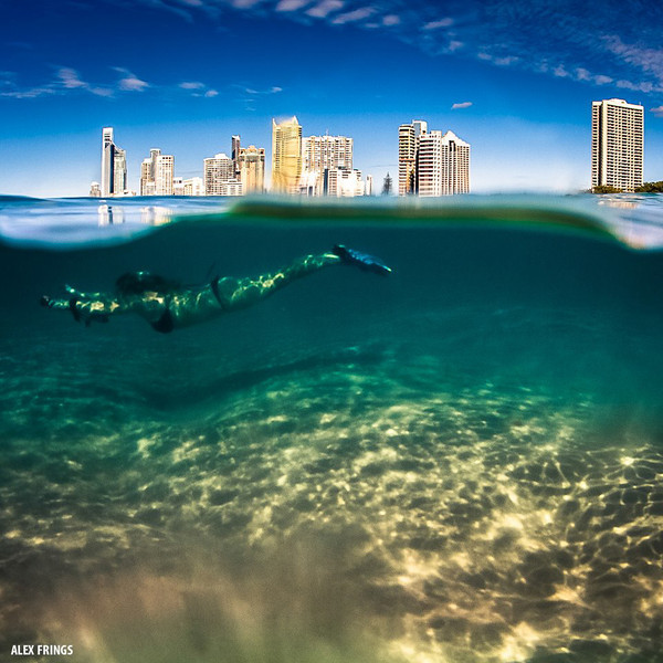Gold Coast with a GoPro.  Photo by Alex Frings · www.alexfrings.com