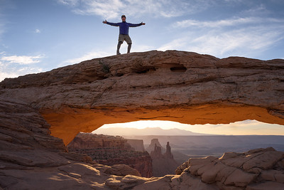 At Canyonlands National Park