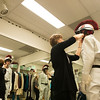 The Oregon Shakespeare Festival. 2013. Ted Deasy fitting for The Taming of the Shrew. Photo: Jenny Graham.