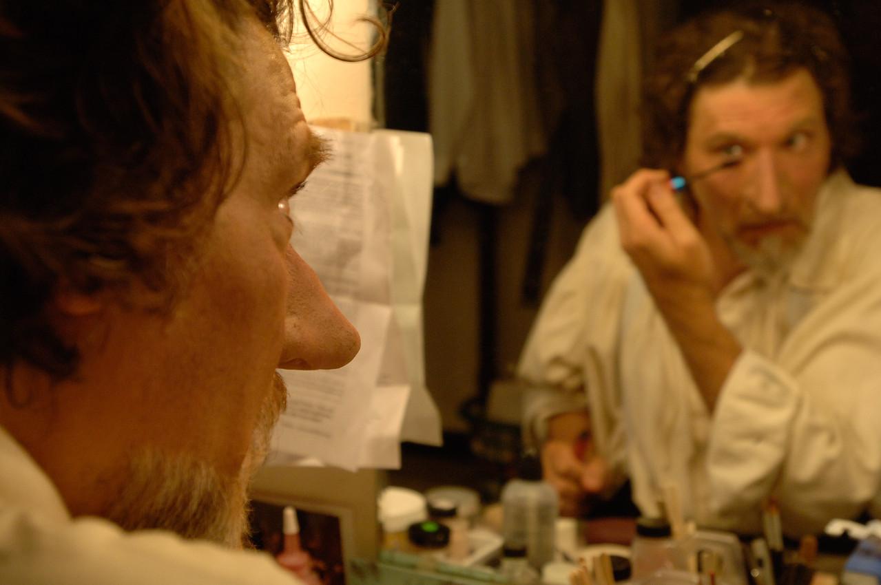 The Oregon Shakespeare Festival. 2006. Behind the Scenes. Photo: Jenny Graham.