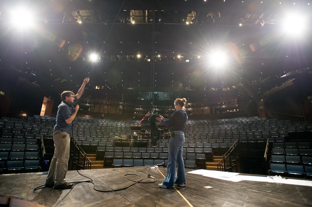 The Oregon Shakespeare Festival. 2015. Behind the Scenes: Lights. Photo: Jenny Graham..